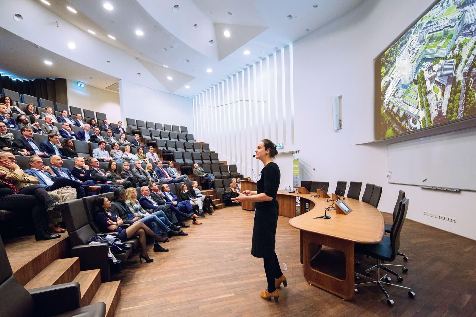 Willemineke Hammer - Erasmus MC 27 maart 2015 Beeld: Ronald Schlundt Bodien/EGM architecten